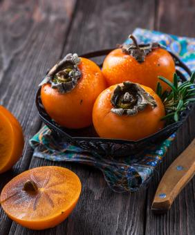 Free Stock Photo of Fresh Persimmon
