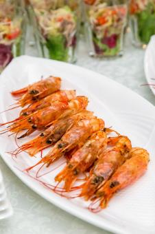 Free Stock Photo of Shrimps Dish