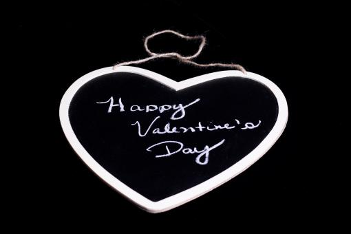 Free Stock Photo of Valentine s Day Chalkboard