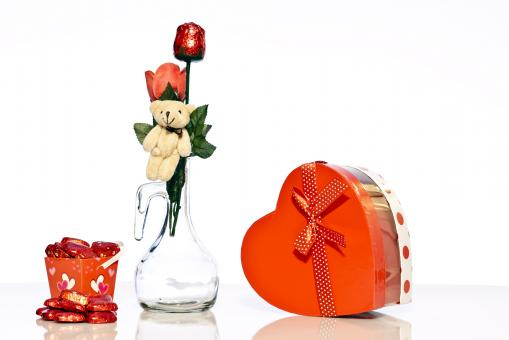 Free Stock Photo of Gifts for Valentines Day