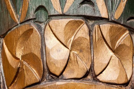 Free Stock Photo of Wood Carving