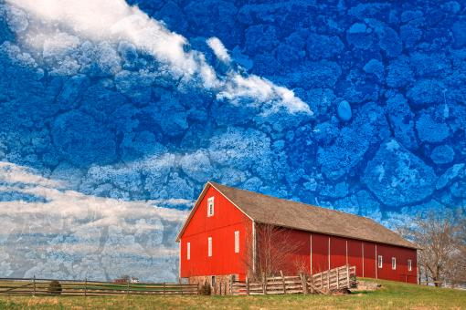 Free Stock Photo of Spangler Weathered Sky Farm