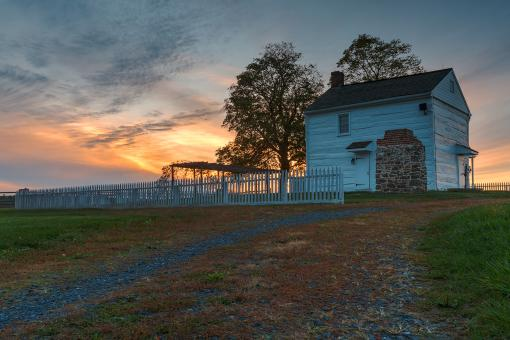 Free Stock Photo of Klingel House Twilight - HDR