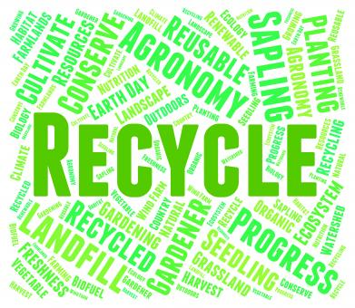 Free Stock Photo of Recycle Word - Eco Friendly And Recycled