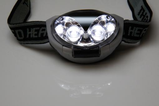 Free Stock Photo of Head Lamp