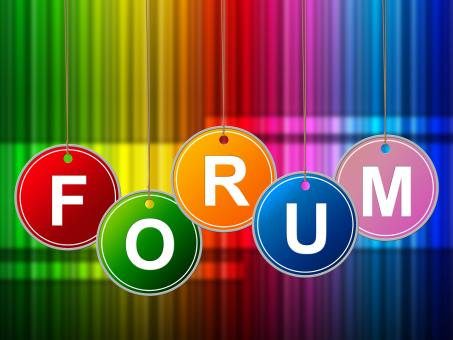 Free Stock Photo of Forums Forum Means Social Media And Site