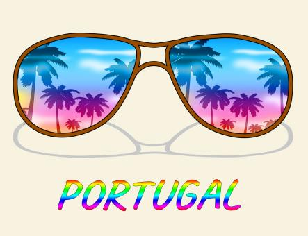 Free Stock Photo of Portugal Holiday Indicates Go On Leave And Europe