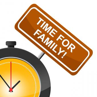 Free Stock Photo of Time For Family Means Blood Relation And Children