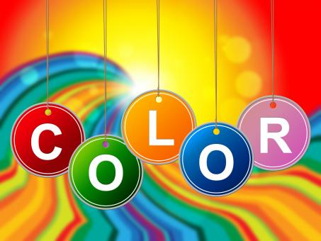 Free Stock Photo of Colorful Color Means Paint Colors And Colour