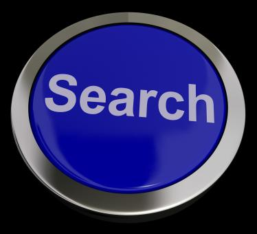 Free Stock Photo of Search Button Showing Internet Access And Online Research