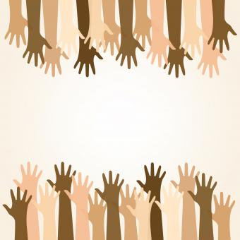 Free Stock Photo of Multiethnic Community and Solidarity - Helping - Concept with Copyspac