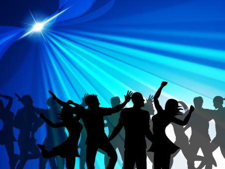 Free Stock Photo of Dancing Party Indicates Cheerful Nightclub And Celebrate
