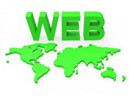 Free Stock Photo of Web World Represents Globalisation Www And Website