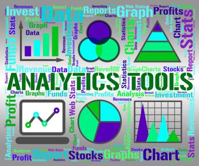 Free Stock Photo of Analytics Tools Represents Business Graph And App