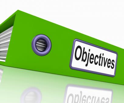 Free Stock Photo of Objectives File Means Correspondence Business And Intent