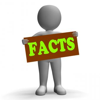 Free Stock Photo of Facts Sign Character Shows True Reports And Details