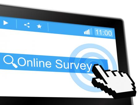 Free Stock Photo of Online Survey Means World Wide Web And Assessing