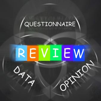 Free Stock Photo of Questionnaire of Reviewed Data and Opinion Displays Feedback