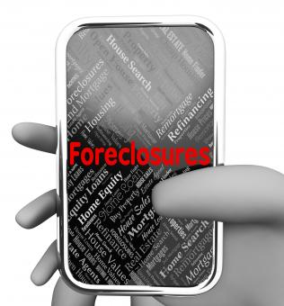 Free Stock Photo of Forclosures Online Means Web Site And Foreclosed