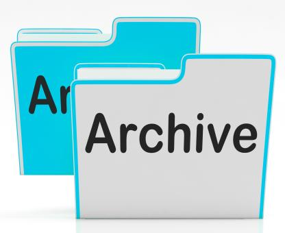 Free Stock Photo of Files Archive Shows Library Storage And Archives