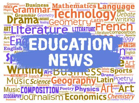Free Stock Photo of Education News Indicates Social Media And Educate