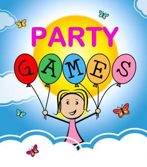 Free Stock Photo of Party Games Shows Play Time And Celebrations
