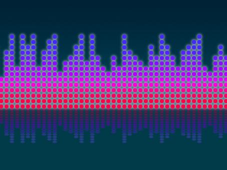 Free Stock Photo of Soundwaves Background Means Making Music And DJing