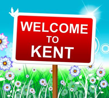 Free Stock Photo of Welcome To Kent Represents United Kingdom And Nature