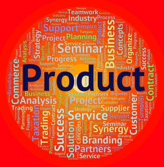 Free Stock Photo of Product Word Means Wordclouds Stocks And Words