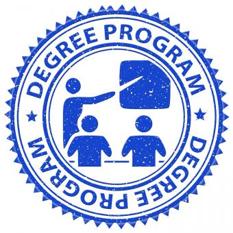 Free Stock Photo of Degree Program Shows Stamps Educated And Education