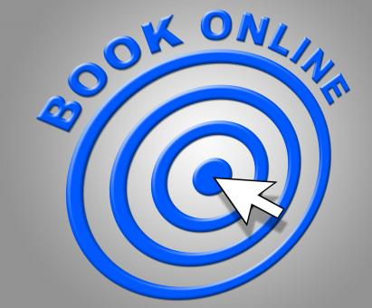Free Stock Photo of Book Online Represents World Wide Web And Booked