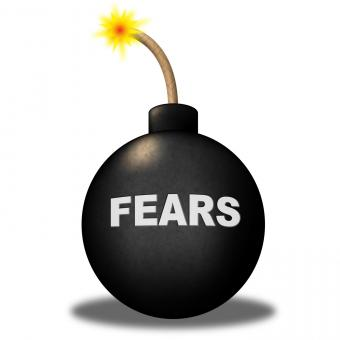Free Stock Photo of Fears Alert Shows Frightened Worry And Explosive