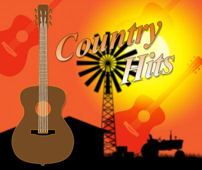 Free Stock Photo of Country Hits Indicates Folk Music And Countryside