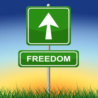 Free Stock Photo of Freedom Sign Represents Get Away And Direction
