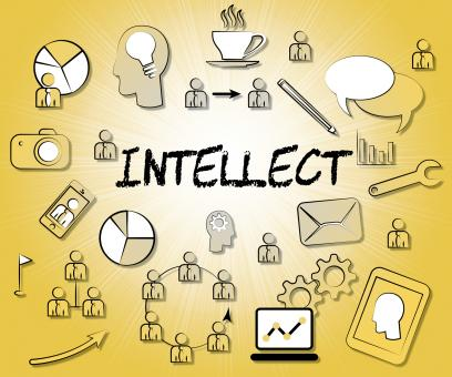 Free Stock Photo of Intellect Icons Represents Intellectual Capacity And Ability