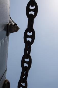Free Stock Photo of Steel Chain