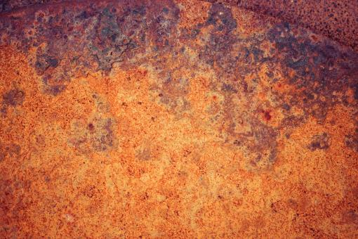 Free Stock Photo of Vivid Rusty Metal Surface