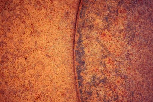 Free Stock Photo of Vivid Rusty Metal Background