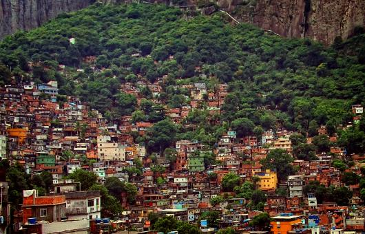 Free Stock Photo of View Over Rocinha - The Largest Slum in Latin America - Rio de Janeiro