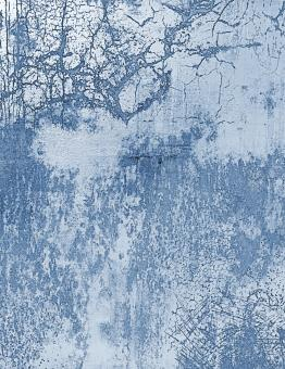 Free Stock Photo of Blue Cracked Wall Texture