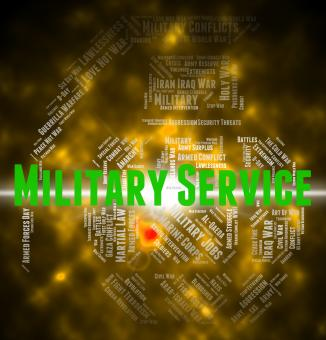 Free Stock Photo of Military Service Means Armed Forces And Army