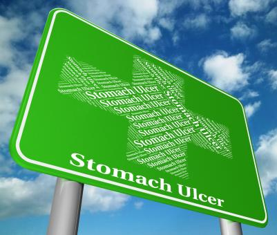Free Stock Photo of Stomach Ulcer Indicates Ill Health And Abdomens