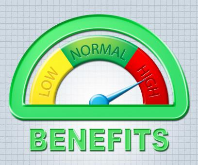 Free Stock Photo of High Benefits Represents Bonus Scale And Gauge