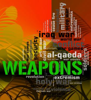 Free Stock Photo of Weapons  and War Wordcloud