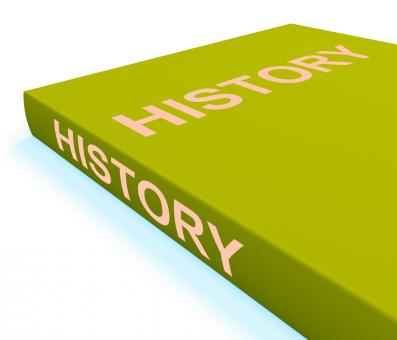 Free Stock Photo of History Book Shows Books About The Past