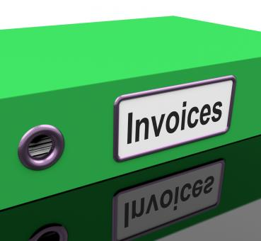 Free Stock Photo of Invoices File Show Accounting And Expenses