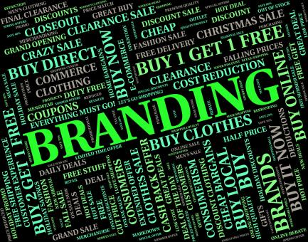 Free Stock Photo of Branding Word Indicates Trademark Line And Text