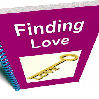 Free Stock Photo of Finding Love Book Shows Relationship Advice