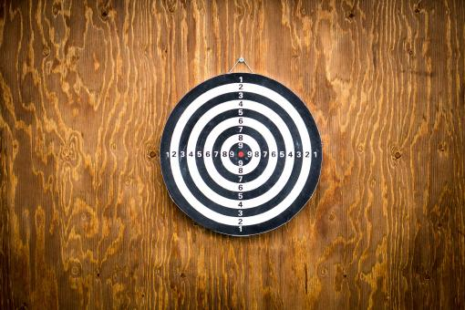 Free Stock Photo of Dart Board
