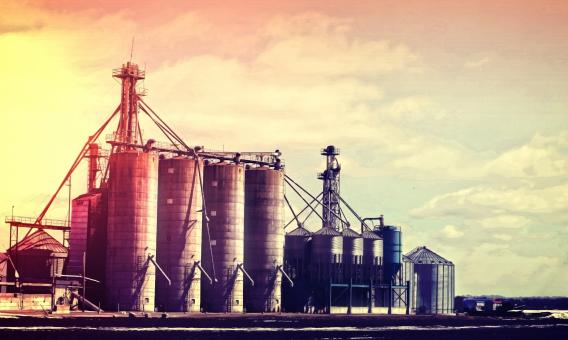 Free Stock Photo of Silos - Industry